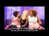 "Mel B and Phoenix funny video ""Talk normal"" [Traduzido]"