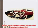 Delicious Junction TOMMY Red White and Blue Retro Leather Union Jack (11 red white blue)