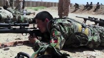 ANA Sniper training with M24 SWS Sniper Weapon System 1080p