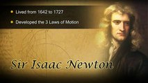 VideoBrief: Newton's Laws of Motion illustrated with 3D animations and motion graphics