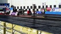 Worlds Fastest Postman Pat Van NSRA Hot Rod Drags 2012