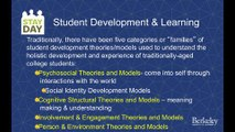 Key Theories of Development in Student Affairs