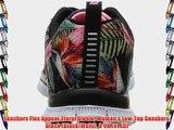 Skechers Flex Appeal-Floral Bloom Women's Low-Top Sneakers Black (Black/Multi) 8 UK (41 EU)
