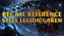 Steel Legion Garen Recall Reference - Lion-O Thundercats
