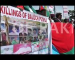 Protest in United Nations against Pakistan Army atrocities in Balochistan (480p)
