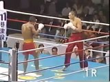 Thai fighter Muay Thai) vs USA kickboxer   KO Knockout มวยไทย