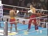 Thai fighter Muay Thai) vs USA kickboxer   KO Knockout มวยไทย