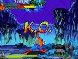 Marvel Superheroes vs Street Fighter con 1 crédito (2/2)