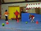 Entrainement jeunes gardiens janvier 08 à Trébeurden