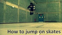 How to jump on roller skates - Derby | Quads