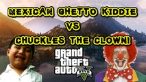 Mexican Ghetto Kid Rages in GTA 5! (Clown Voice Trolling!)