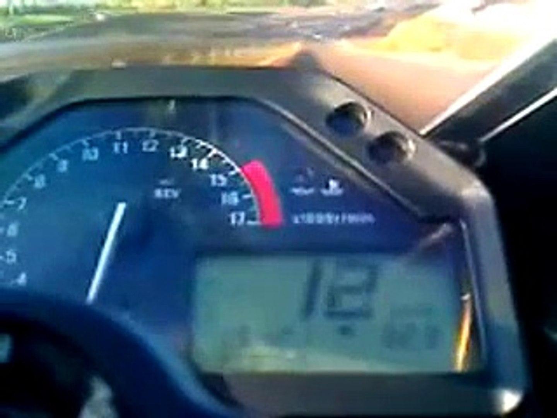CBR 600 RR Top Speed