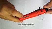 How to Use Butane Gas Soldering Iron? - Zico Zi-2130 - Heat gun, Burner, Soldering iron