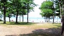 Camping at South Higgins Lake State Park
