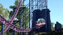 Bizarro Roller Coaster Off Ride POV Superman Ride of Steel Six Flags New England HD 1080p