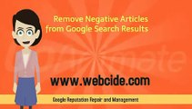 Online Reputation Campaigns -Search Engine Reputation Management Consulting-Google Reputation Monitoring