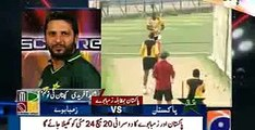 Shahid Afridi Talking With Media Pakistan Vs Zimbabwe 1st T20 Match 22nd May 2015