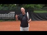 Tennis Tip - Scissor Kick Overhead