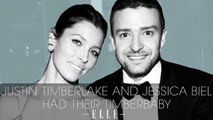 Justin Timberlake and Jessica Biel Had Their Timberbaby - Elle