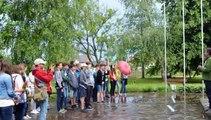Herman Ottó Gimnázium diákjai a felvidéken