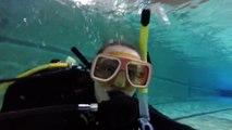Swimming pool dive UWC Pearson College