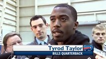 Tyrod Taylor Interview After Day One   Buffalo Bills QB