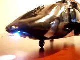 Airwolf blade cx2 with retracts,navigation lights in details