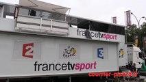 Tour de France à Amiens : le Cirque envahi par les camions médias