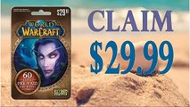 How to Claim World of Warcraft 60-Day Subscription card generator $30 updated in 2015 with Proof