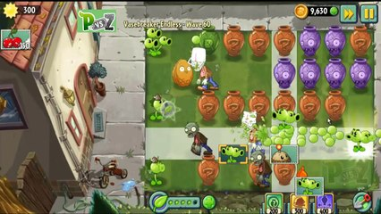 Plants vs Zombies 2   Vasebreaker Endless 60 Cleared ! New Record !