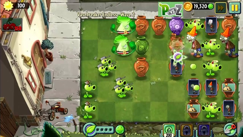 Plants vs Zombies 2   Vasebreaker Intro ,Egypitan Challenge Pack & Endless