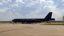US Air Force B52 Stratofortress arriving into Avalon - Avalon Airshow 2015