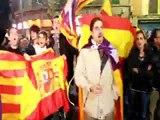 Manifestació amb aldarulls a Palma