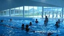 Le Tréport : inauguration du centre aquatique