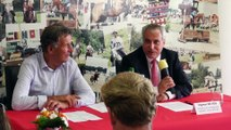 Visite Officielle d'Ingmar De Vos, Président de la Fédération Equestre Internationale