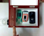 Despertador luminoso para el telefono movil para sordomudos