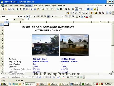 Buying NonPerforming Notes How to Raise Money NoteBuyingProfits.com