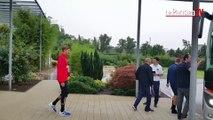 PSG : les premières images de Trapp sous les couleurs du club