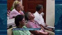 Noticieros Televisa Veracruz - Notarios contra lavado de dinero