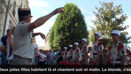Saumur - Musique de la Légion étrangère 4/7/15