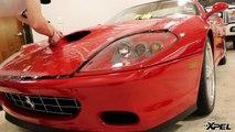 Ferrari 575M Maranello gets XPEL ULTIMATE Paint Protection Film Clear Bra