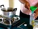 Experiment Chemistry Mixture Of Flour and Salt   chemistry science experiments, chemistry