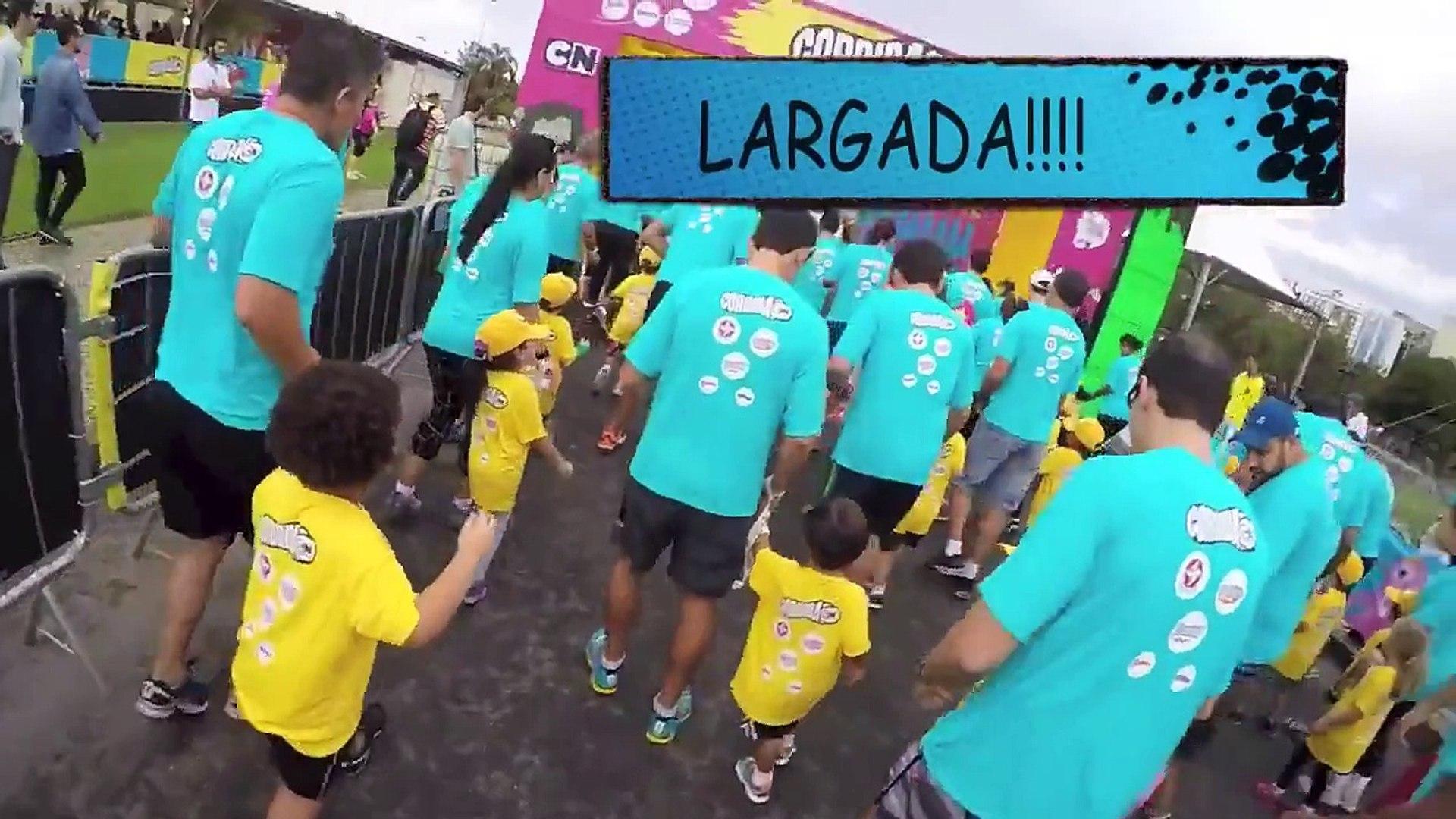 Corrida Cartoon 2015 - Lucas e sua primeira corrida