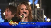 Rockin' Around the Christmas Tree - Miley Cyrus [Live] Rockefeller Tree Lighting 2008 HD