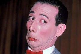 Grunting woman or Pee Wee Herman