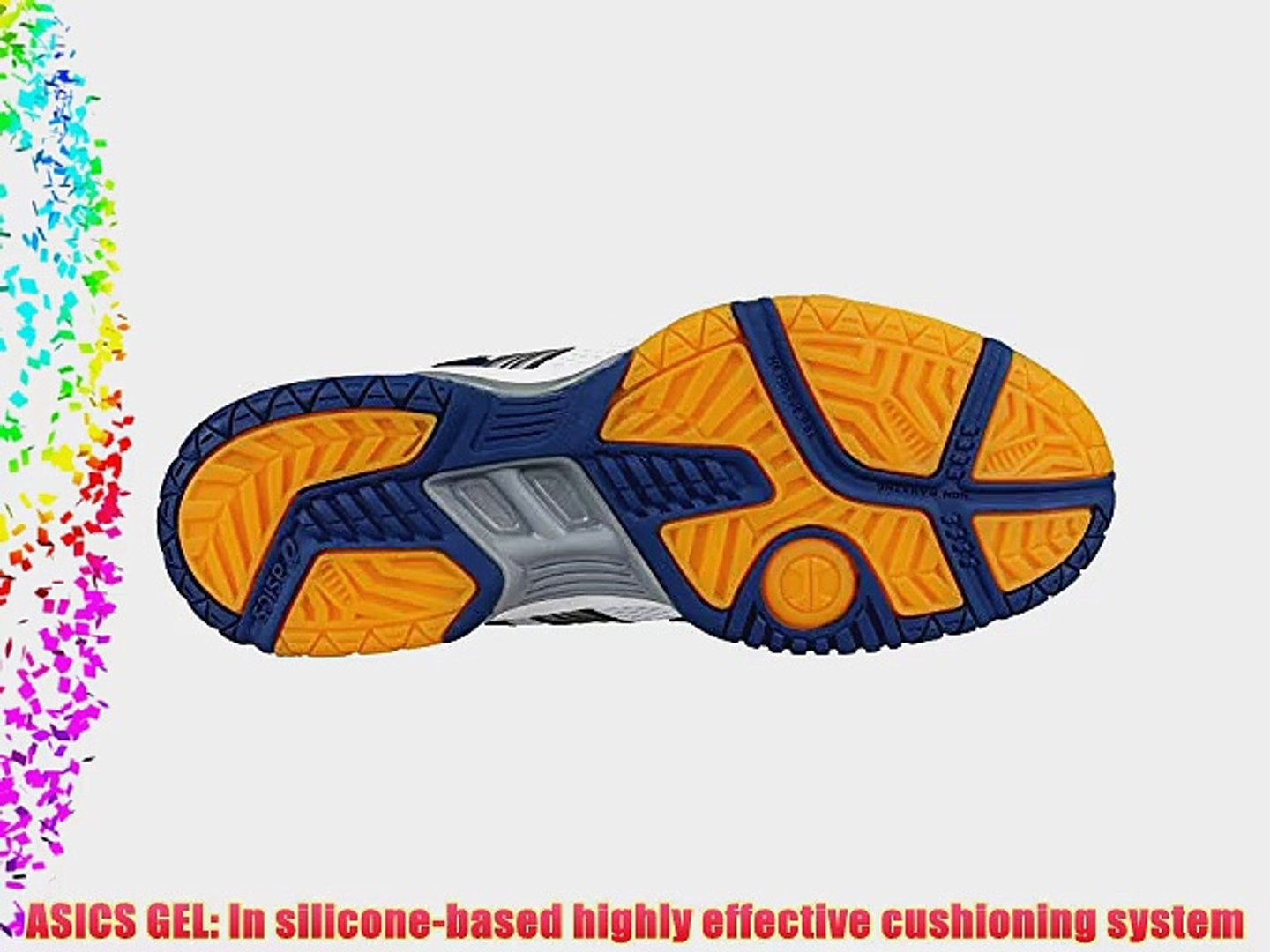 736711d6ab9 Asics Indoor Sport Shoes Gel-Rocket Men 0191 Art. B207N Size UK 8.5