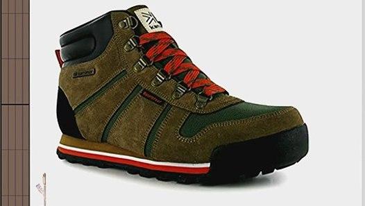 3cdd08f0623 Karrimor Mens KSB Bowfell Mens Walking Boots Green/Brown 11