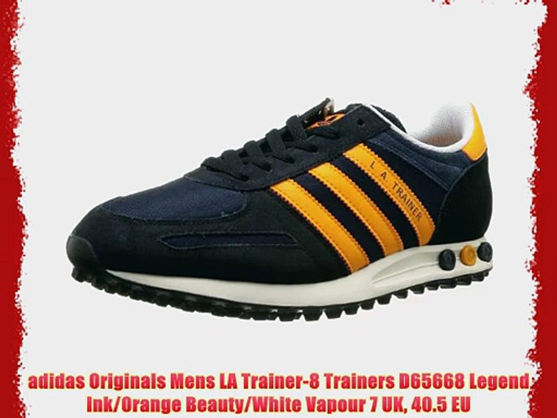 adidas Originals Mens LA Trainer 8 Trainers D65668 Legend