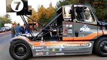 Pikes Peak 2012 Race Semi Gymkhana Drift Truck Size Matters