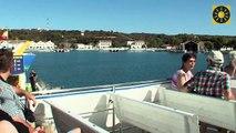 """MENORCA - Mahon """"Hafenrundfahrt mit Yellow Catamarans"""" Balearen SPANIEN"""